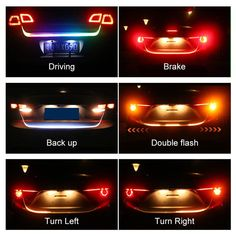 2019 Car Styling RGB Undercarriage Floating Led Trunk Strip Light Luggage Compartment Lights Dynamic Streamer Turn Signal LED From Sara1688, $26.13 | DHgate.Com