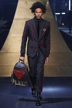Philipp Plein Fall/Winter 2016-2017 Menswear Fashion Show By Nayia Ginn