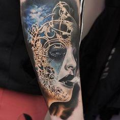 Awesome surreal work from artist @myskow_slawomir from Poland! #SullenTV #sullenclothing #TogetherWeRise #sullen #tattooartist #tattoo #ink #art #artdriven #tattoooftheday #inked #bodyart