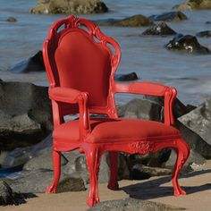 Lounge Chair Red, $725, now featured on Fab.