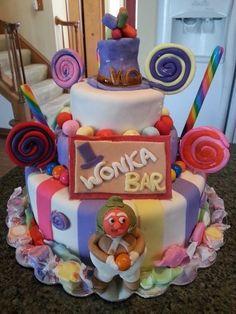 Wonka cake - by Pattyscakedesigns @ CakesDecor.com - cake decorating website