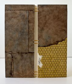 "The Art of Bookbinding - Handmade books by Jay Gould. ""A book is a coded..."