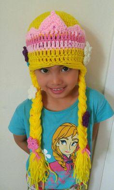Check out this item in my Etsy shop https://www.etsy.com/listing/288031565/rapunzel-hat-crochet-rapunzel