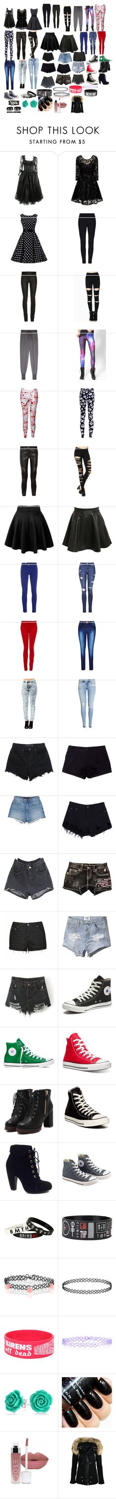 """""""More stuff"""" by missmurder1974 ❤ liked on Polyvore featuring beauty, Chi Chi, Clu, WithChic, Givenchy, Pilot, M Missoni, Topshop, Paige Denim and City Chic"""