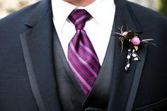 purple wedding ties: #wedding #tie #ideas Mens Wedding Ties, Wedding Wear, Purple Wedding, Mens Attire, To My Daughter, Marriage, Wedding Inspiration, Bride, Party