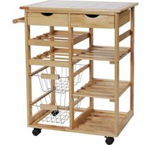 Buy HOME Pine Tile Top Kitchen Trolley at Argos.co.uk, visit Argos.co.uk to shop online for Kitchen trolleys, Kitchen storage, Cooking, dining and kitchen equipment, Home and garden