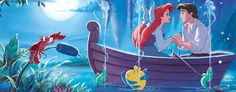 ariel and eric in boat - Google Search