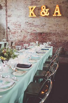(Speakeasy themed Brooklyn wedding) Get started on your stress-free, personalized wedding planning atwww. -- Discover and book the best local wedding professionals! 1920s Wedding, Wedding Reception, Our Wedding, Dream Wedding, Wedding Table, Speakeasy Wedding, 1920s Party, Warehouse Wedding, Cake Wedding
