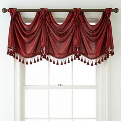 jcpenney.com | Royal Velvet® Hilton Rod-Pocket Empire Valance