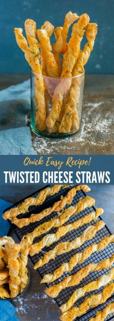 Twisted Cheese Straws