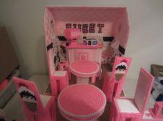Ice cream shop doll house for 111/2 inch dolls by TagAlongToyZ