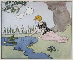 The Frog Prince - Margaret Evans Price, 1921