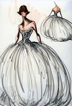 """Brides.com: Runway Sneak Peek: Spring 2013 Sketches. Mark Zunino. Having cut his teeth in fashion dressing Tinsel-Town royalty under famed Dynasty costumer Nolan Miller, designer Mark Zunino created his debut bridal collection with the ultimate stars in mind. """"I was inspired by Hollywood's legendary fashion icons, such as a young Audrey Hepburn, Grace Kelly, and Sophia Loren,"""" Zunino says. It's a savvy place to begin, too, since those names resonate so strongly with bridal clientele. Zunino…"""