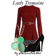 """Lady Tremaine"" by princesschandler on Polyvore"