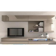 meuble tv plasma tania laqu blanc design moderne pinterest tvs and design. Black Bedroom Furniture Sets. Home Design Ideas