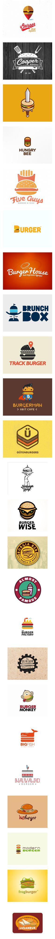Some cute burger logos :]