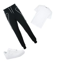 """""""Untitled #17"""" by lignonolivia on Polyvore featuring Les Hommes and NIKE"""
