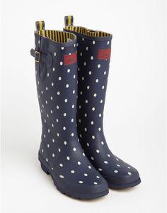 WELLY PRINT Womens Printed Rain Boots. $78 @Robin Staudt