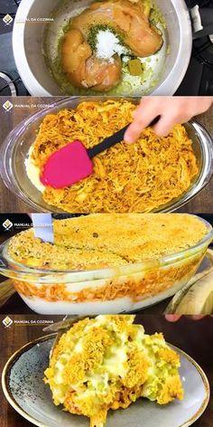 ESCONDIDINHO DE FRANGO DIFERENTE PARA O NATAL #almoco #jantar #frango #chicken #natal #cozinha #receita #receitafacil #receitas #comida #food #manualdacozinha #aguanaboca #alexgranig
