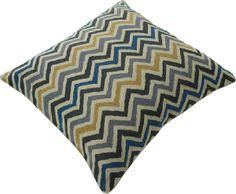 "Momeni Rugs Chainstitch Pillows Ottomans 20"" - Pillow CSP-5 Multi CHAINCSP-5MTIPI20"