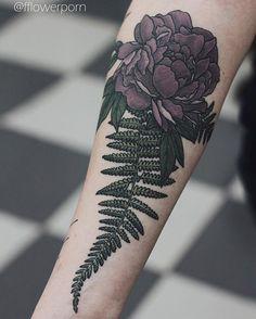Another healed fern #tattoo #tattoos #ink #inked #tattooed #tattooist #design…