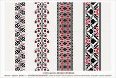 Semne Cusute: romanian traditional motifs - MOLDOVA - Bacau, Racova