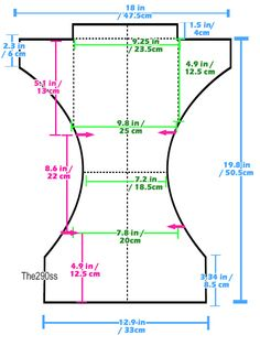 The290ss: Tutorial: Costura pañales de tela (un tamaño de bolsillo Pañales)