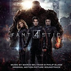 Marco Beltrami And Philip Glass - Fantastic Four: Original Motion Picture Soundtrack on Limited Edition Colored 180g 2LP