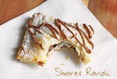 S'mores Ravioli