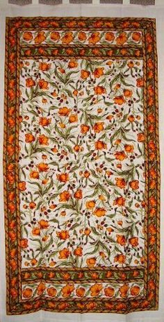 French Floral Tab Top Curtain-Drape-Door Panel-Olive-Saffron by India Arts. $16.99. Unique Home Decor. 100% Cotton. Machine Washable. 44 x 88 inches. FRENCH FLORAL PANEL ~ Beautiful French Floral curtain/door panel in lovely shades of saffron and olive green on natural white. Made of 100% power-loom cotton offering a nice tight weave. Panel measures approximately 44 inches wide X 88 inches tall including the tabs. They can be machine washed on cool/gentle and tumble dried. A... Kitchen Window Treatments, Home Kitchens, Tab Top Curtains, Drapes Curtains, French Floral, Floral Curtains, Cotton Curtains, Panel Doors, Tab Curtains