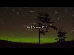 Northern Lights dance across the Donegal skies