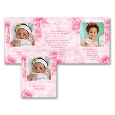 Gift of God Photo Baptism Invitation Wording Samples. Let us at CardsShoppe.com help with your Religious Baptism invitation announcement card wordings to ensure they attract the attention of your invited guests while avoiding the same old motifs found in most religious stationery retail stores and other websites.