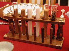 Steampunk Tea Party, via Flickr.; brilliant idea for props on the tea table