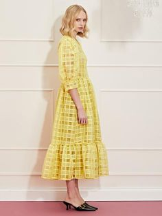 DREAM Dolly Check Midi Wrap Dress – Sister Jane