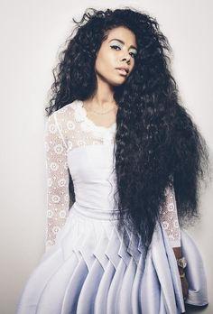 Long Dramatic Hair