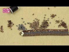 3 Sıra Yarım Tila Bileklik Yapımı - YouTube