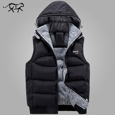 Good price New Stylish Autumn Winter Vest Men High Quality Hood Warm Sleeveless Jacket Waistcoat Men's Vest homme Fashion Casual Coats Mens just only $23.94 - 25.83 with free shipping worldwide  #jacketscoatsformen Plese click on picture to see our special price for you
