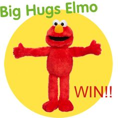 Big Hugs Elmo - You know a hug is something we all use to cheer each other up!