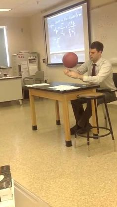 Teacher Be Ballin' While Grading