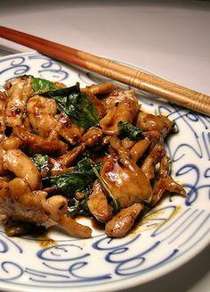 Amazing Pinterest world: Basil Chicken Stir Fry