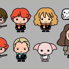Pottermore Harry Potter Characters Re Imagined In Adorable New Designs
