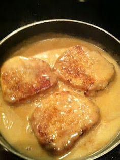 Pork chops and gluten free gravy