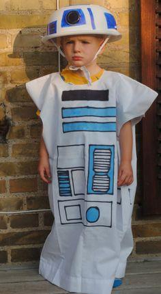 DIY Pillowcase R2D2 Costume Tutorial
