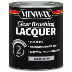 Minwax 1-qt. Satin Clear Brushing Lacquer