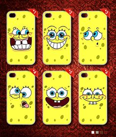 Spongebob Squarepants Faces Part1 Phone Case  Spongebob by DEVALOP Spongebob Squarepants, Faces, Phone Cases, Iphone, Face, Phone Case, Sponge Bob