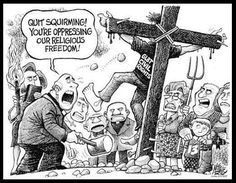 Quit squirming, you are oppressing our religious freedom...   > > > Click image!