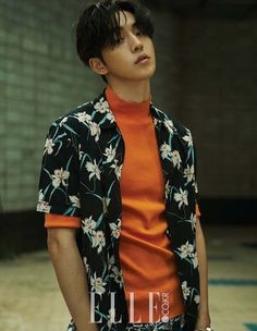 Nam Joo Hyuk Shows Off His Good Looks for Elle Magazine Korean Star, Korean Men, Asian Men, Nam Joo Hyuk Lee Sung Kyung, Jong Hyuk, Asian Actors, Korean Actors, Nam Joo Hyuk Wallpaper, Joon Hyung