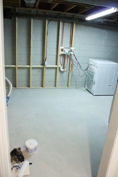 drylocked basement