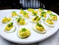 G. Garvin's Deviled Eggs from CookingChannelTV.com