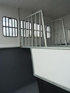 Horsebox horse partitions #horseboxes